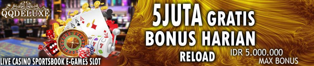 Promo bonus judi online terbesar